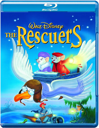 The Rescuers (1977) Dual Audio Hindi 480p BluRay x264 250MB ESubs Movie Download