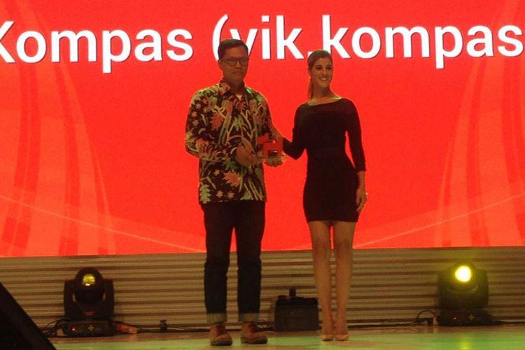 VIK Kompas.com Raih Penghargaan 'Best Website' dalam Ajang Bubu Awards