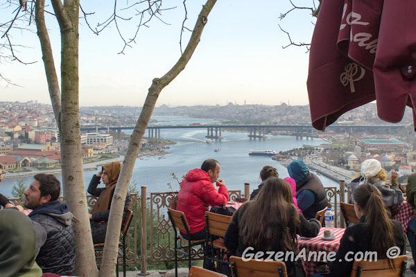 Pierre Loti kahvesinin ortamı, İstanbul