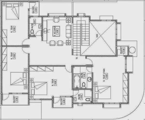 Gambar Desain Rumah Ukuran 7x12 Meter - Gambar Puasa