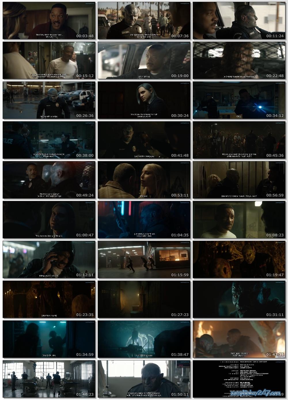 http://xemphimhay247.com - Xem phim hay 247 - Chiếc Đũa Quyền Năng (2017) - Bright (2017)