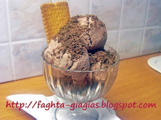 Παγωτό κακάο - από «Τα φαγητά της γιαγιάς»
