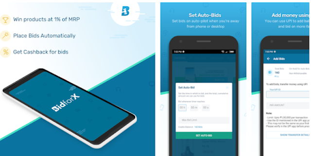 BidforX - Bid and Buy products - YouthApps