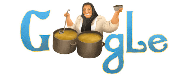 Adile Naşit's 86th birthday - Google Doodle