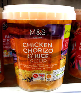 M&S Chicken, Chorizo & Rice Soup