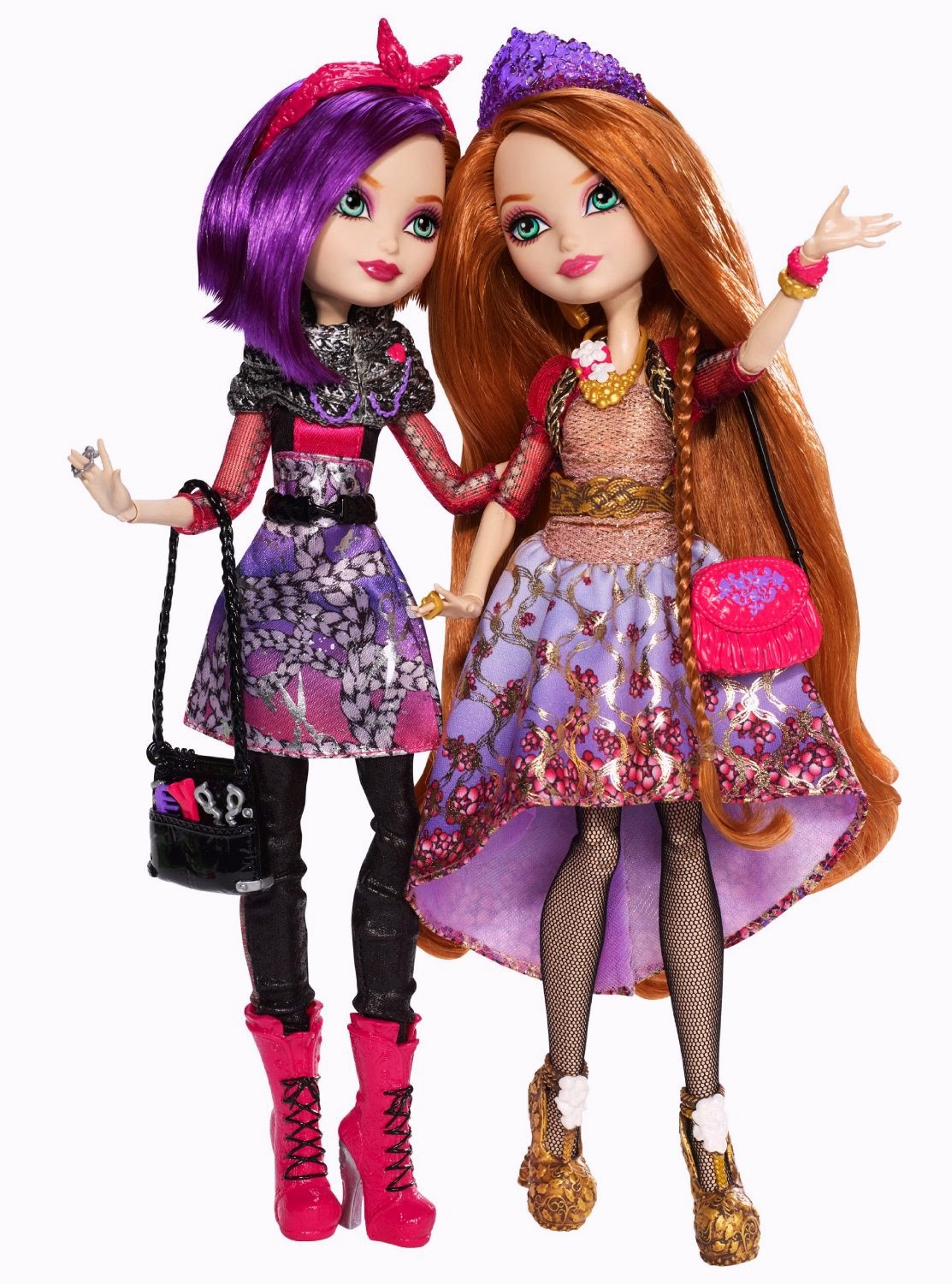 Ever After High-Pretty: Ever After High Pack Poppy y Holly
