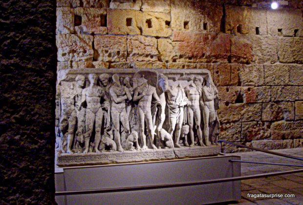 Sarcófago - Circo Romano - Tarragona - Catalunha