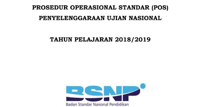 Download POS UN Dan USBN Tahun 2019