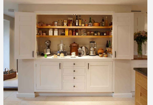 bifold hidden kitchens