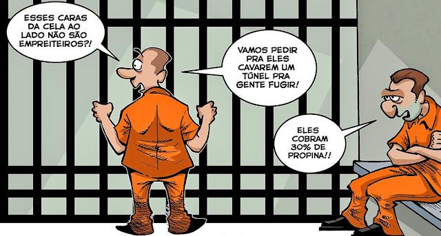 Resultado de imagem para A LAVA JATO É CAMPEÃ MUNDIAL: charges