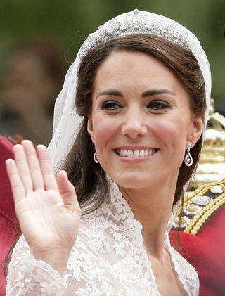 Kate Middleton wedding makeup picture