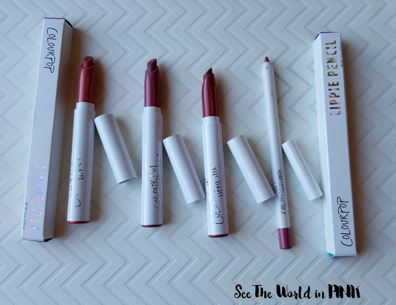 colourpop lippie stix button lumiere cami
