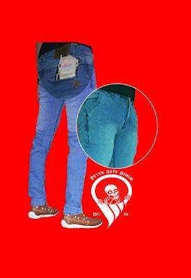 celana jeans skinny pria kantong bobok