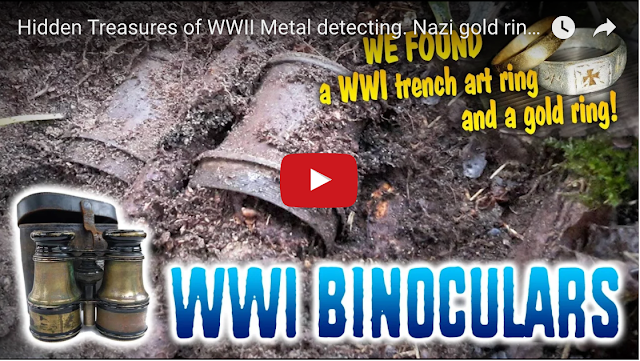 dirt fishing - ww2 metal detecting videos