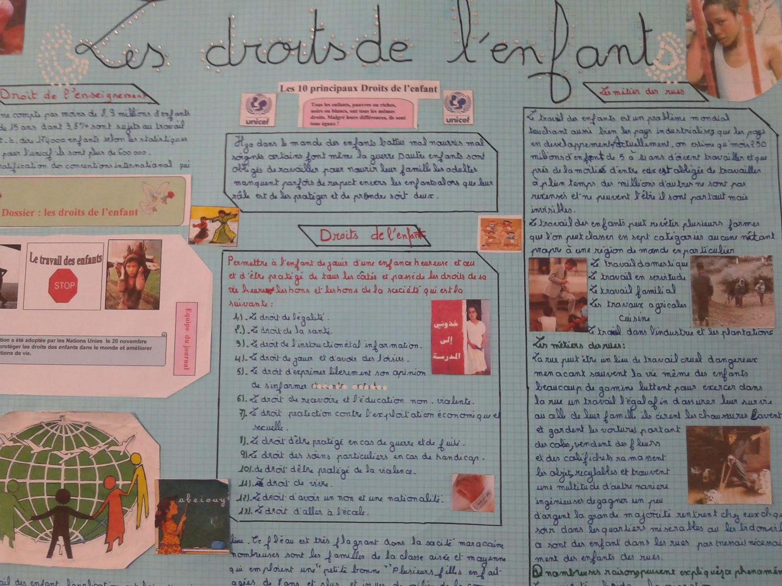 Le Francais Au College 3eme Annee Production Ecrite Orale
