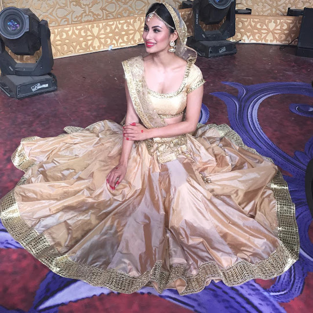 TV Actress mouni Roy photos
