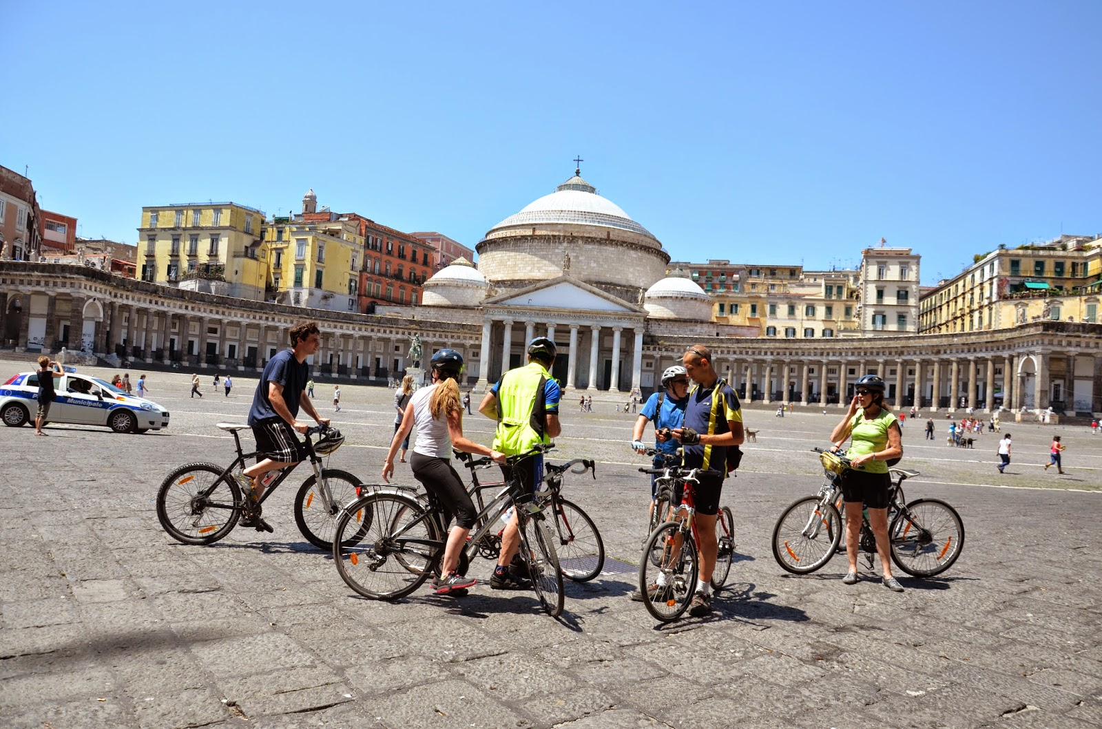 things to do in naples cycling excursion
