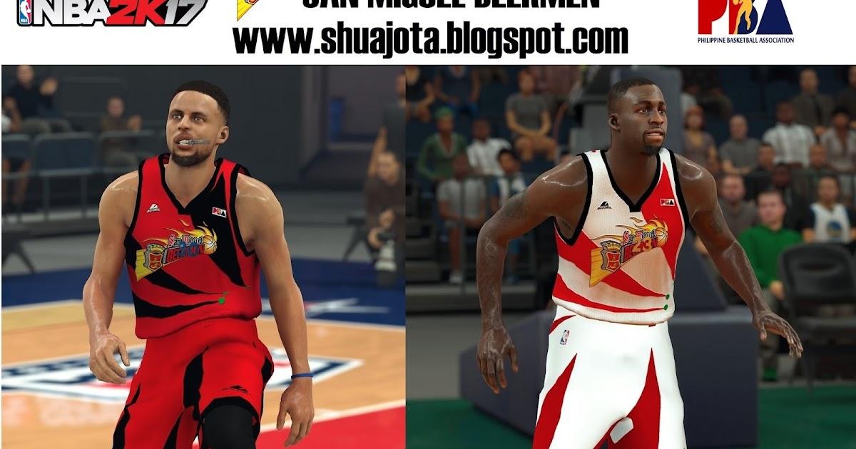 DNA Of Basketball | DNAOBB: NBA 2K17 San Miguel Beermen Jerseys by shuajota