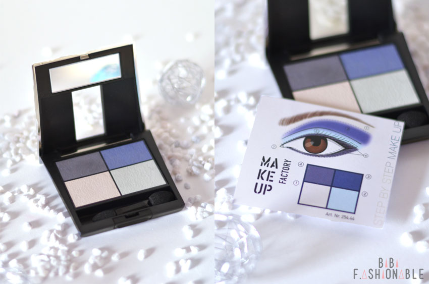 Make Up Factory Elements of the Ocean Lidschatten Quattro blau