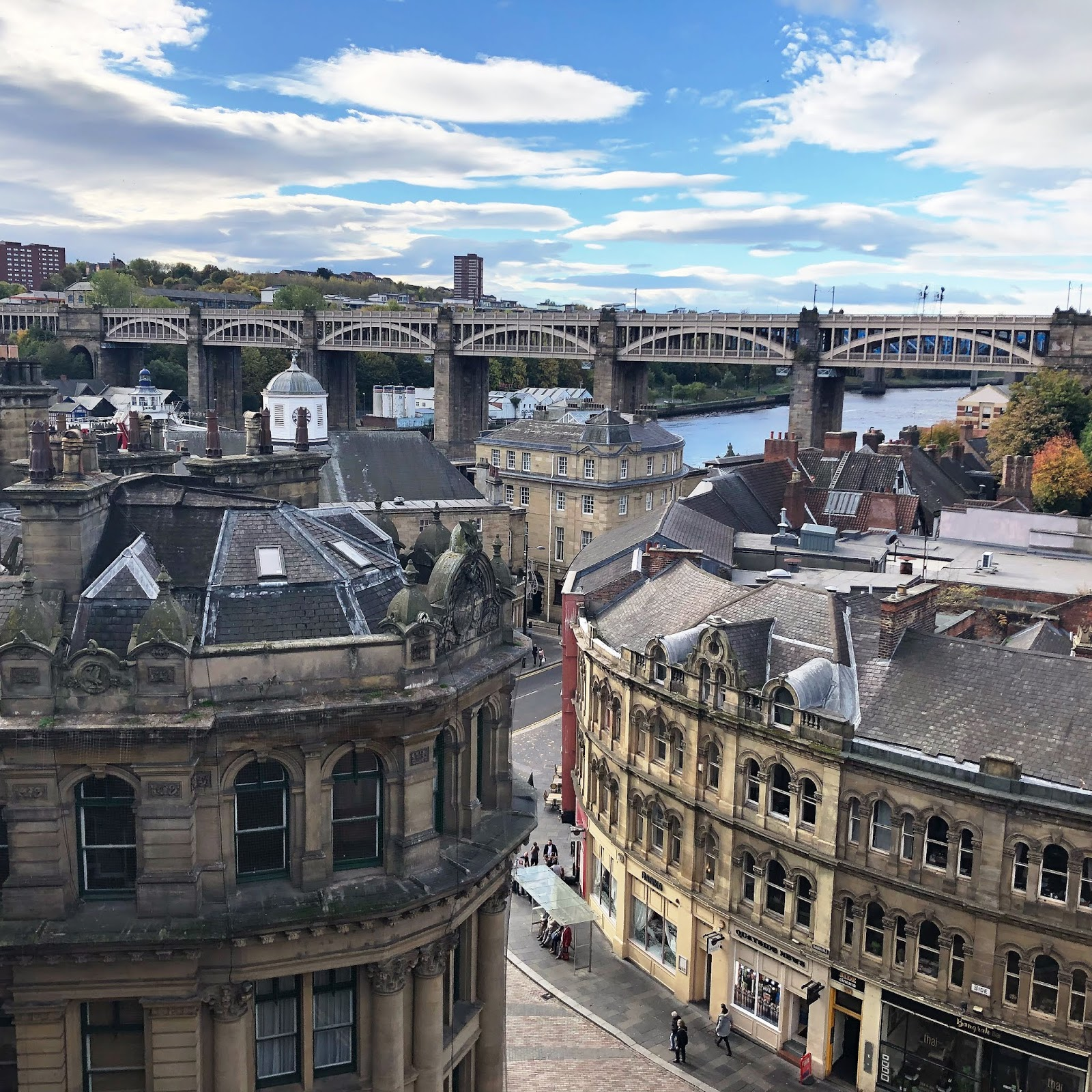 My October Days - Tyne Bridge