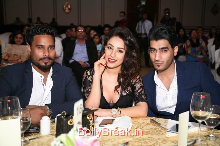 Ali, Elham and Hyder, Hot Pics of  Nivetha Pethuraj Stephanie Lahore Jyotsna Arora  At Miss India UAE 2015