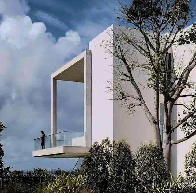 arsitek dengan desain rumah bergaya minimalis