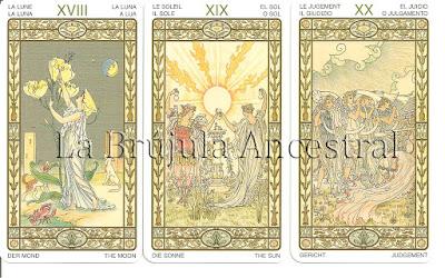 Tarot de la Armonía - Luna - Sol - Juicio