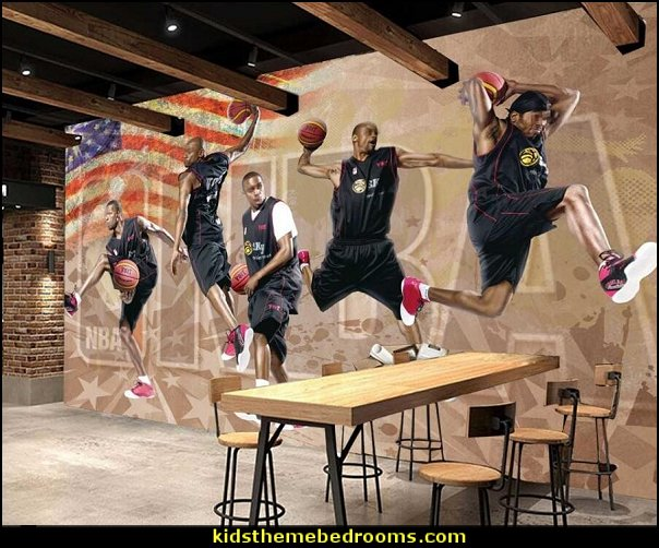 basketball star dunk pictures wallpaper for walls 3d wall papers