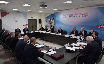 Preparations for the 29th Winter Universiade Krasnoyarsk 2019.
