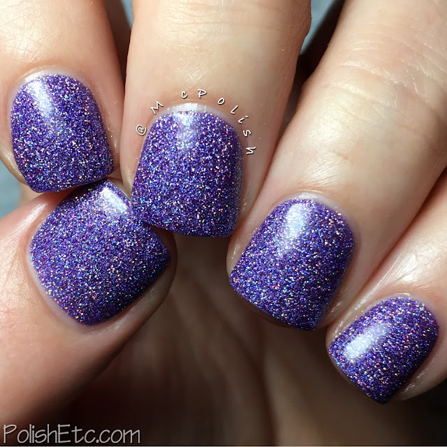 Nine Zero Lacquer - Spring 2016 Collection - McPolish - Iris