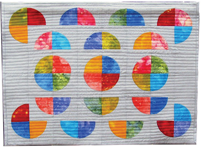 many moons mini quilt pattern