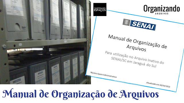 Modelo de Manual de Padronização para Arquivo Inativo