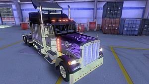 Peterbilt 379 Purple