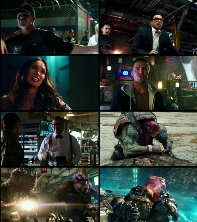 Teenage Mutant Ninja Turtles Out Of The Shadow 2016 Dual Audio Hindi 480p WEBRip