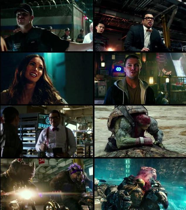 Teenage Mutant Ninja Turtles Out Of The Shadow 2016 Dual Audio Hindi 480p WEBRip