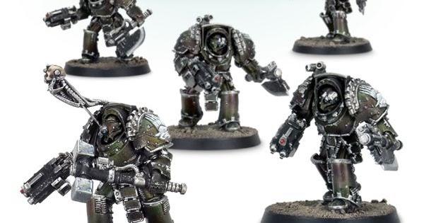 Arms - *BITS* C Forgeworld CATAPHRACTII PATTERN TERMINATORS