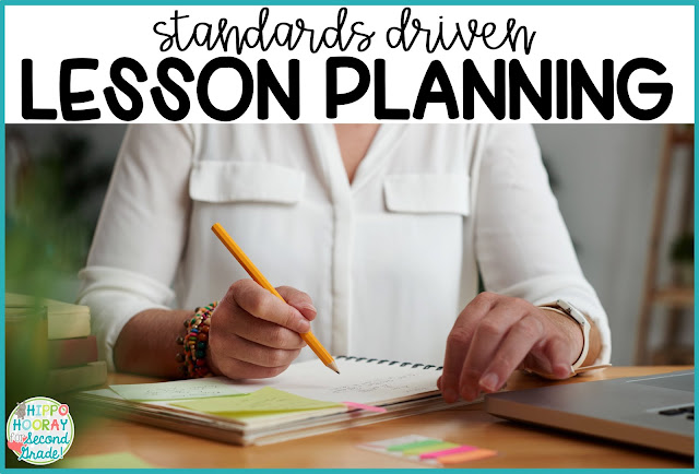 Rather than making cute activities fit your standards, this blog post teaches how to start with your standards, write lesson goals/objectives, and then build the lesson from there.