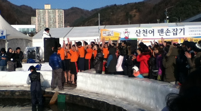 Fishing at The Hwacheon Ice Festival in Korea | Lindsay Eryn