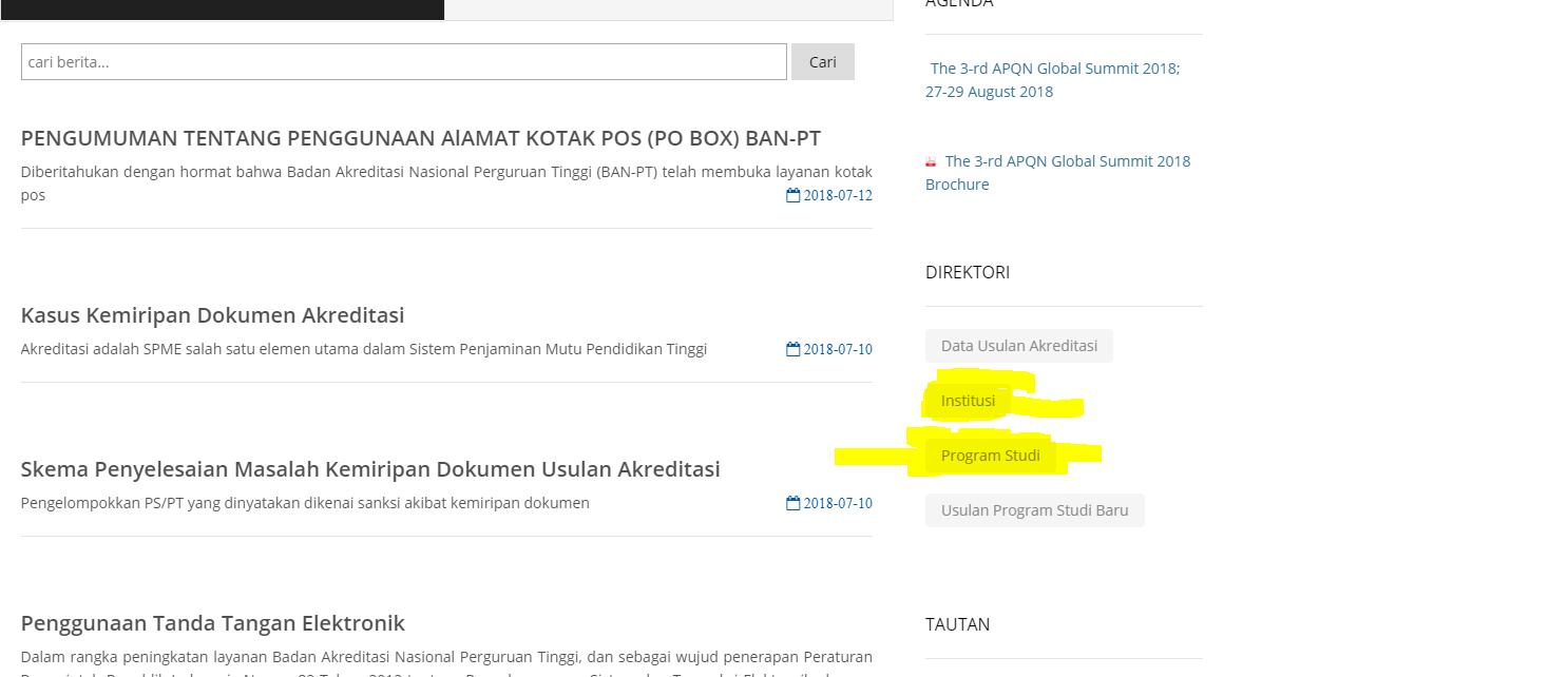 website resmi banpt