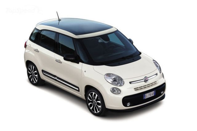 2013 Fiat 500L Panoramic Edition