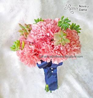 Floristeria decorador floral para ramo de novia colores boda azul celeste aqua en Guatemala
