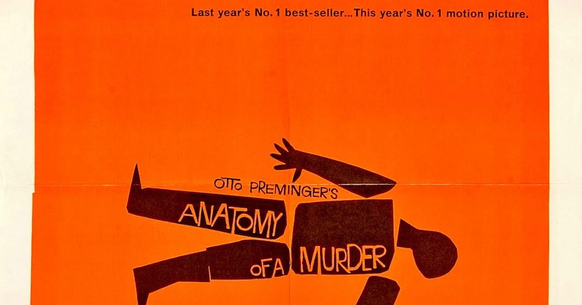 CARTELES DEL CINEMA: ANATOMÍA DE UN ASESINATO - Anatomy of a Murder ...
