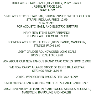 music instrument wholesale deals