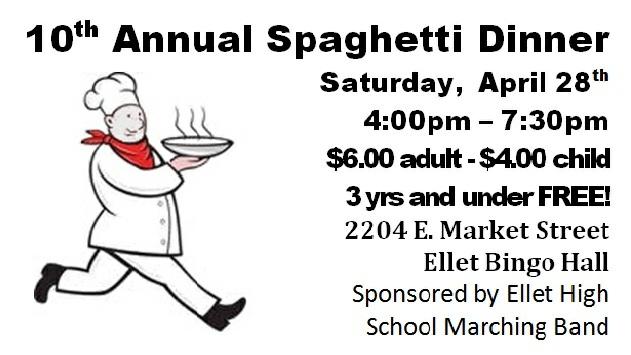 Marching Orangemen: Spaghetti Dinner