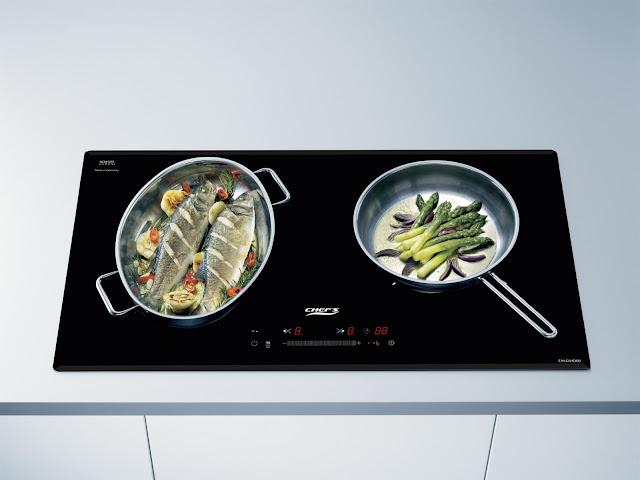 Đánh giá bếp từ chefs eh dih366 new nhập khẩu Đức