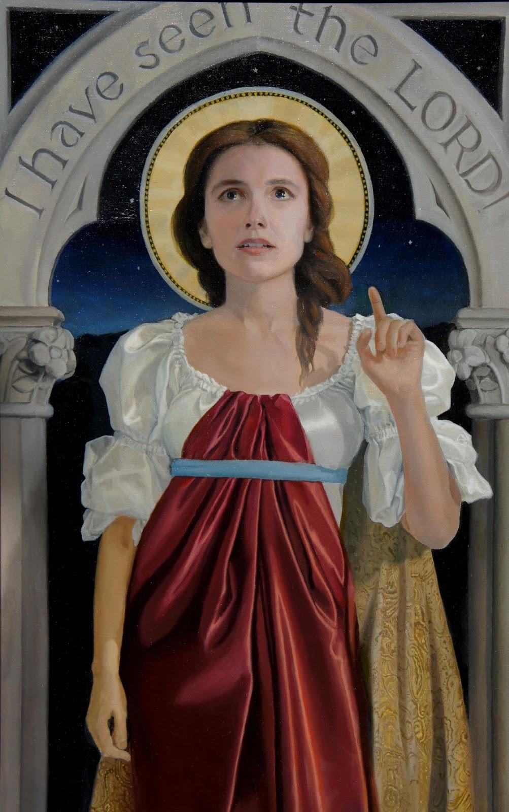 Live. Pray. Paint.: Latest work: Saint Mary Magdalene