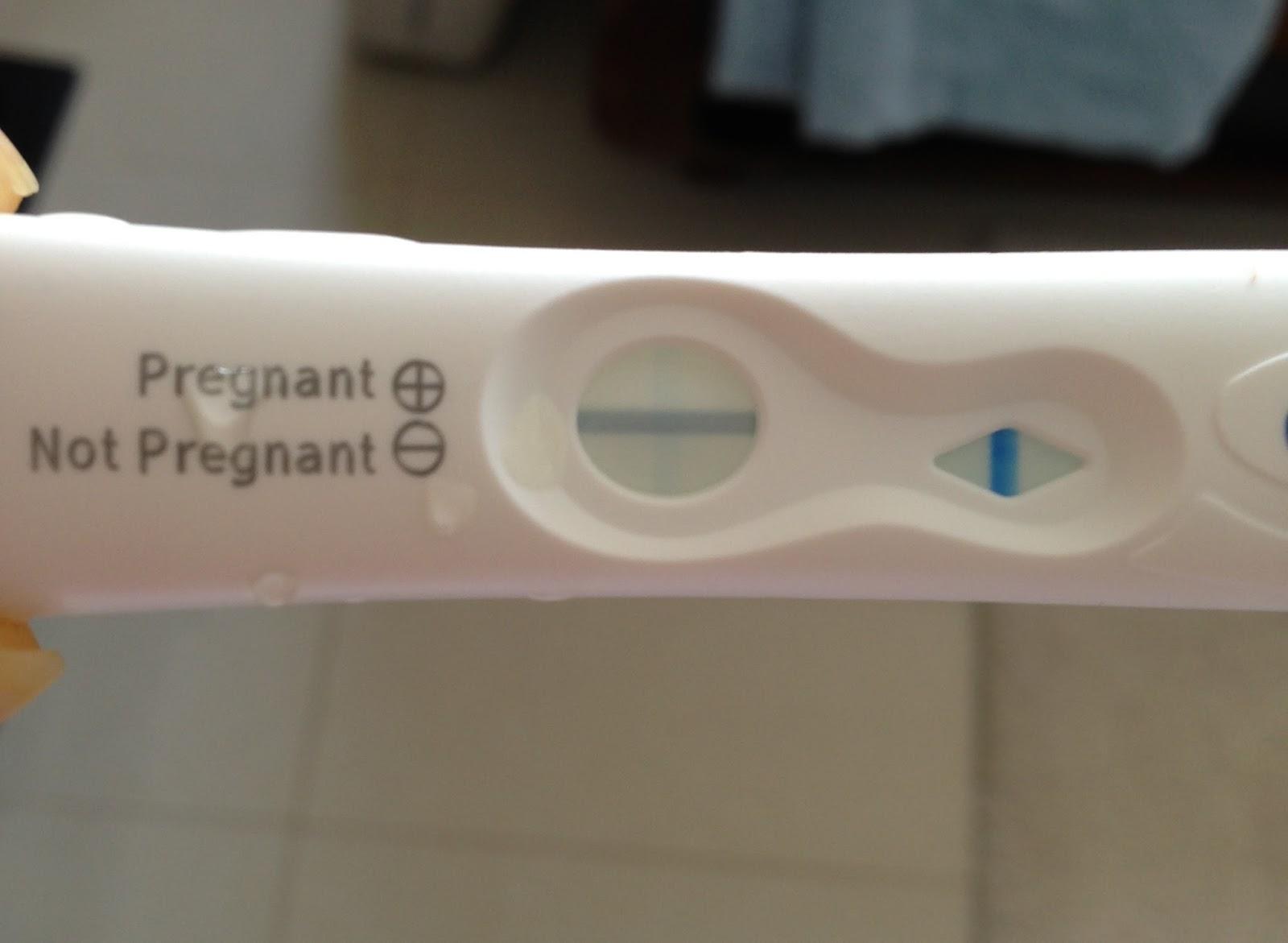 Clear Blue Pregnancy Test Very Faint Vertical Line - Pregnancy Symptoms