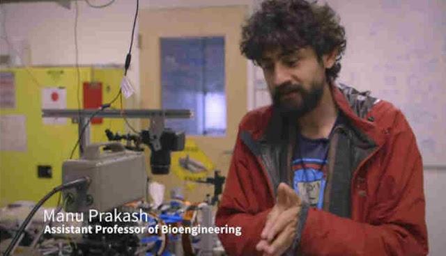 Manu Prakash, pembuat komputer tanpa daya listrik