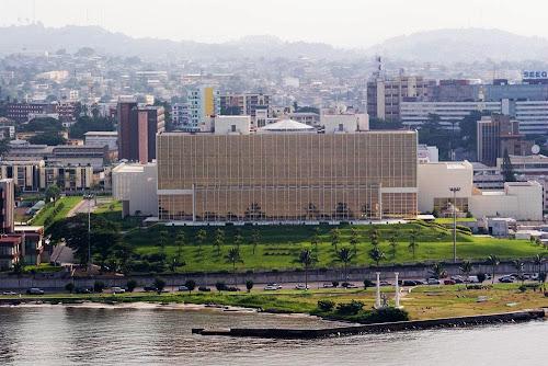 centro de Librevile – Gabão
