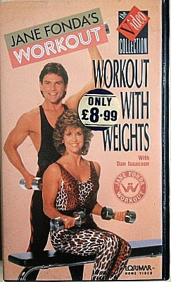 Jane Fonda Workout Video from 1988